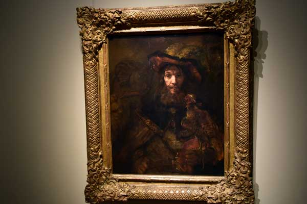 Rembrandt Riddare med falk