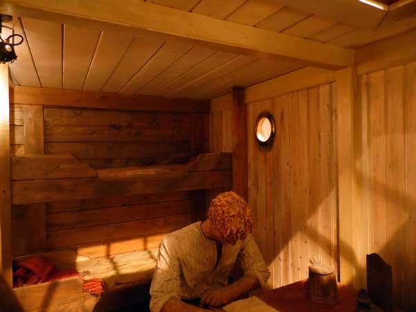 gammal kabin